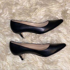 ALDO Genuine Leather Black Heels 6.5